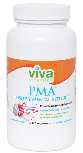 PMA positive mental attitude vitamins